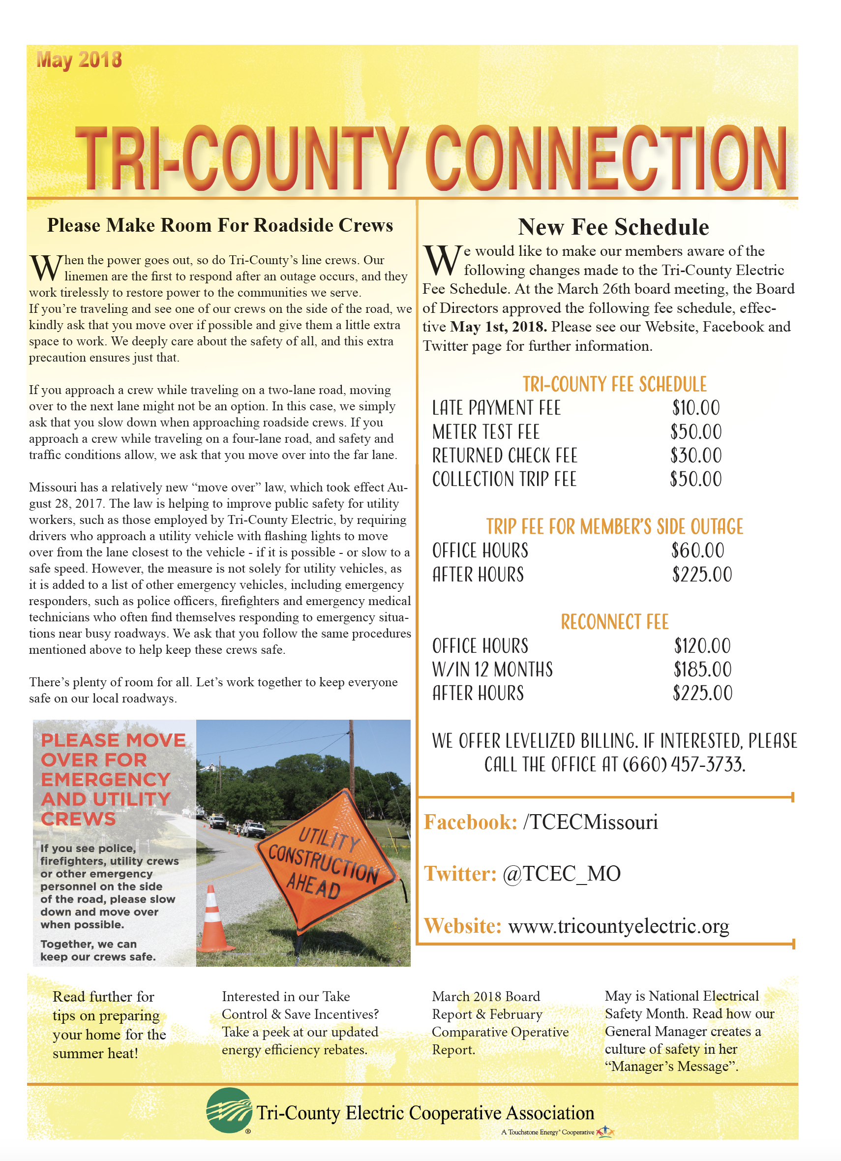Tri-County Connection Newsletters | Tri-County Electric